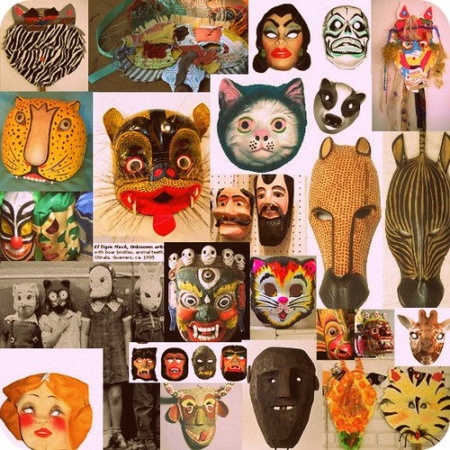 masks - mood boards