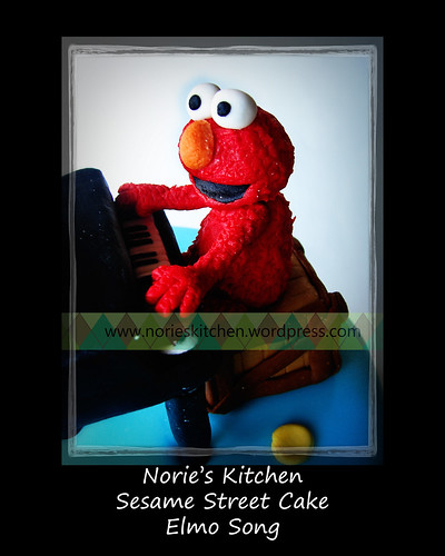 Norie's Kitchen - Sesame Street Cake