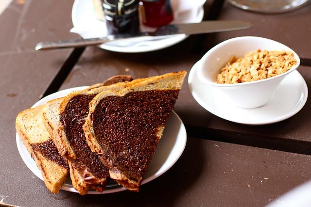 Dining at the Hotel Palomar, Dallas, Texas