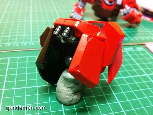 MG Rick Dias Quattro Custom RED Review OOB Build (30)