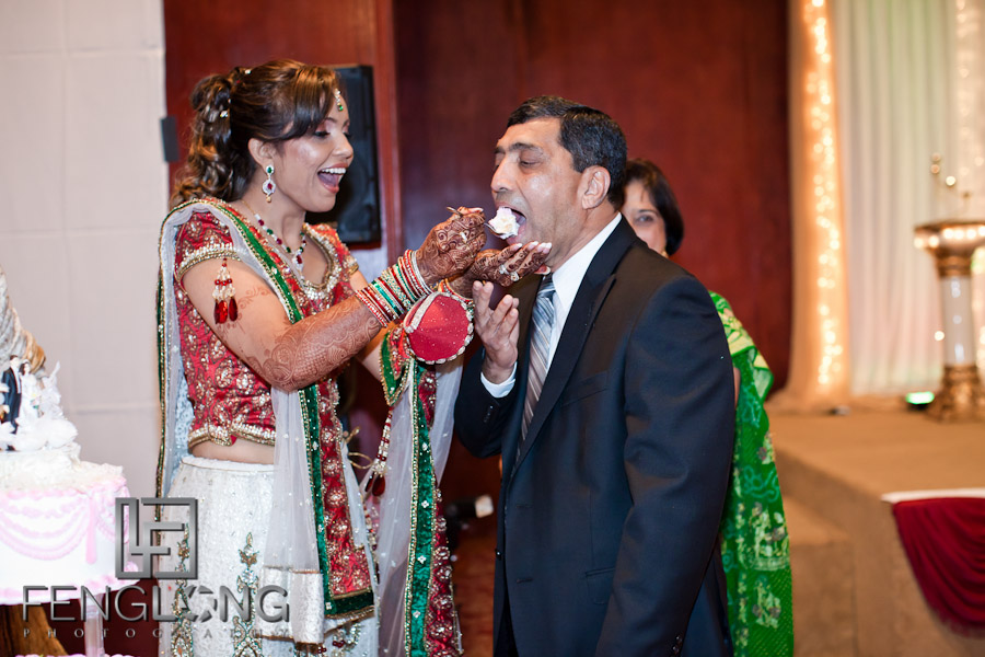 Feeding Cake to Parents | Shamz & Sana's Wedding Day 3 | Zyka Indian Banquet Hall Decatur | Atlanta Indian Photographer