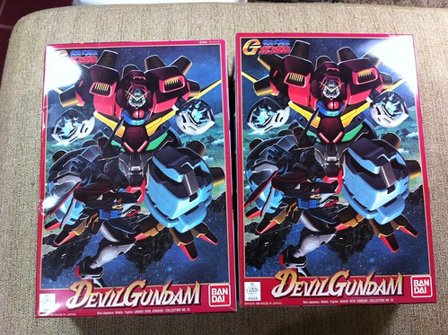 Devil gundam and Pink beargguy bear guy (2)