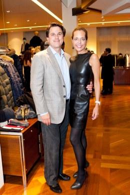 Greg Malin and Charlotte Malin