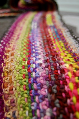 A scarf of many colours