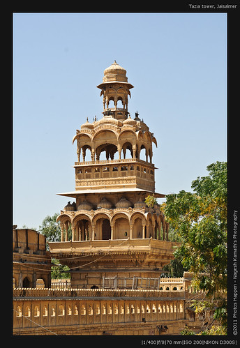 Tazia tower, Jaisalmer