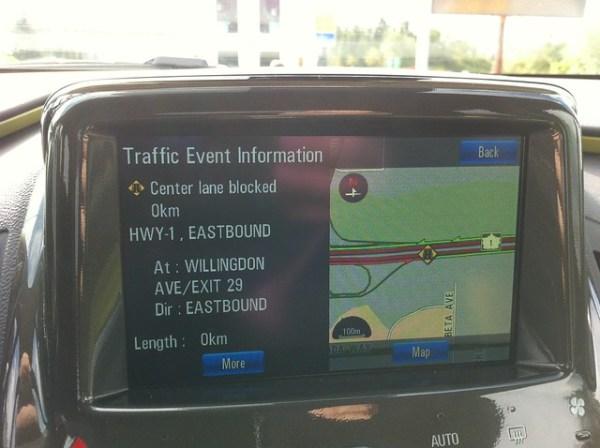 Chevy Volt 'traffic event'