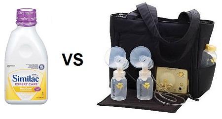 Similac Versus Medela