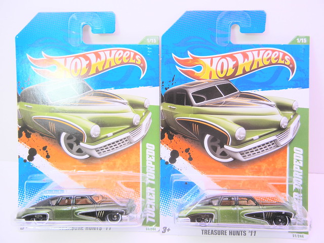 hot wheels tucker torpedo treasure hunt super and regular