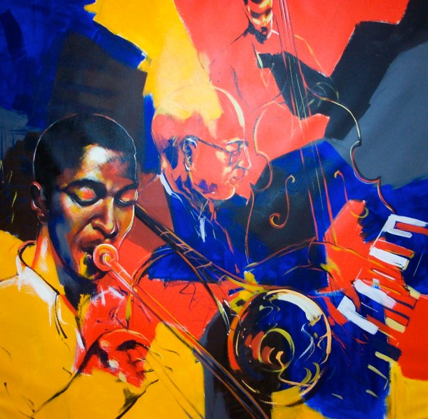 Paintings Of Jazz Musicians And Groups Paul Ygartua