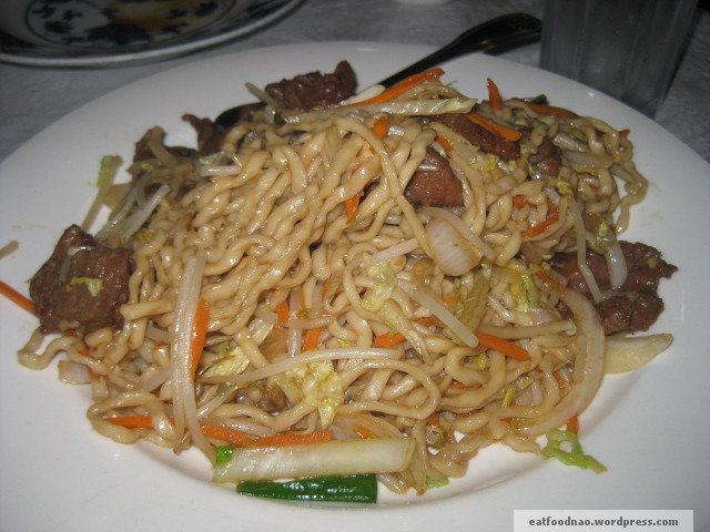 Beef Stir Fried Noodles