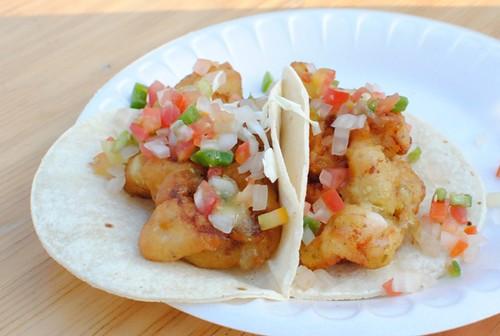 fish shrimp tacos
