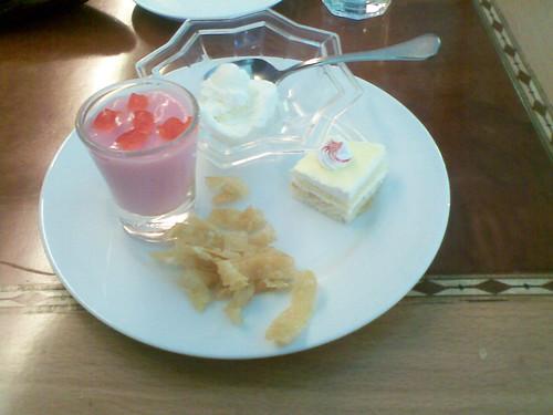 Dessert at Dancing Wok