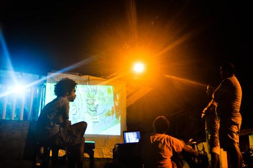 Fotos Cine na Rua - Encontro de midia - 17-09-2011 (9) by Grafiola Núcleo