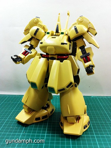 MG The-O PMX-003 Review OOB Build (49)