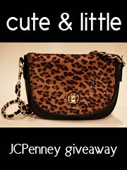 kileen cute and little JCPenney Call It Spring leopard cross-body purse giveaway