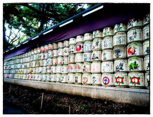 Sake for the shrine