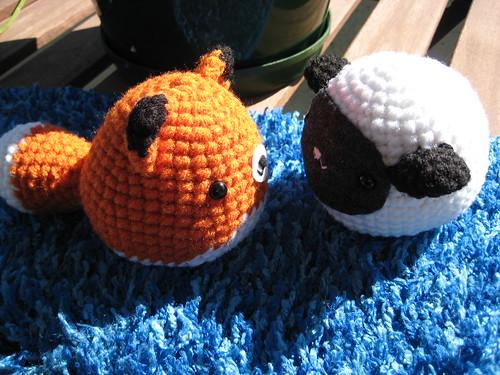Sheep and Fox