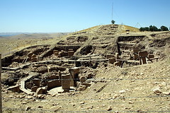 Göbekli Tepe. Panorama del jaciment.