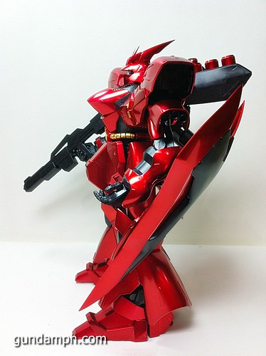 MG Sazabi Metallic Coating (Titanium-Like Finish) (50)