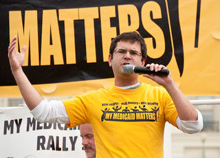 ADAPT Medicaid Rally