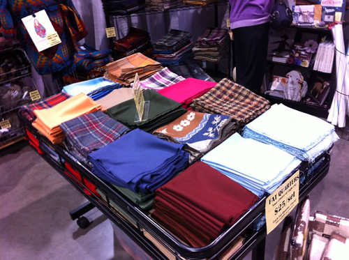 Pick your own FQs at the Pendleton booth at the NW Quilting Expo