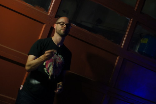 Magician Michael Casey, Motorco, Durham NC, 09/24/11