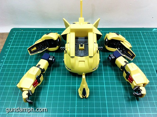 MG The-O PMX-003 Review OOB Build (29)