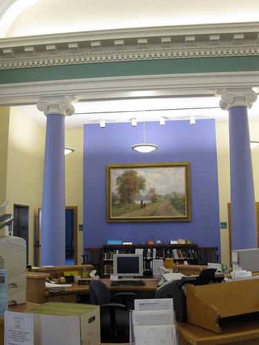 Muncie Public Library - Carnegie Library - interior1