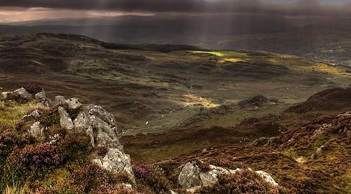 Cymric badlands from Crimpiau