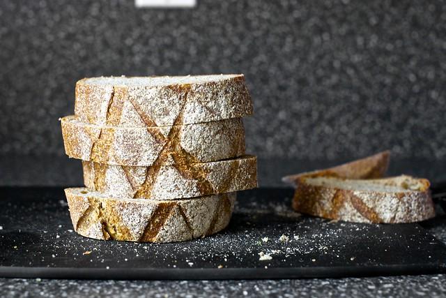 rye toast floats