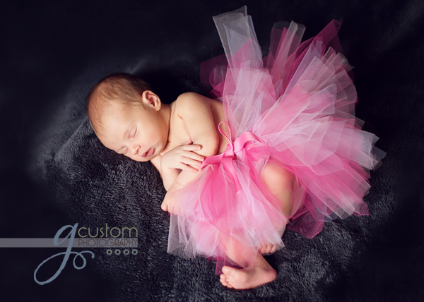 Newborn baby girl | g Custom Photography