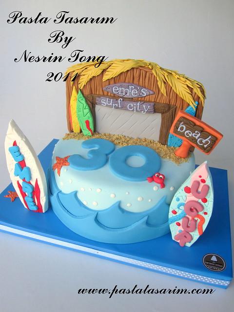 SURF CITY CAKE....