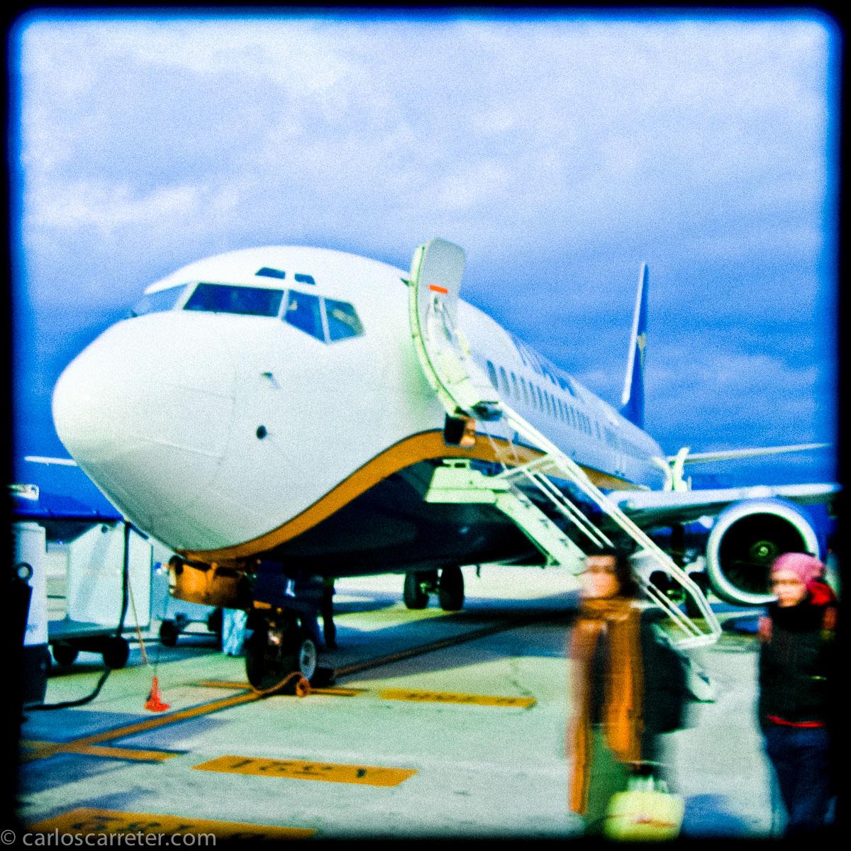 Avión procedente de Roma Ciampino