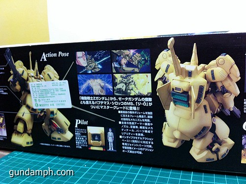 MG The-O PMX-003 Review OOB Build (3)