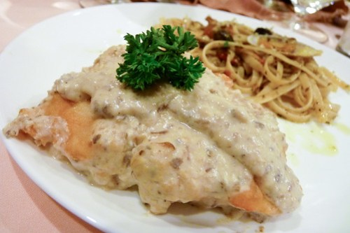Fish Fillet with Truffle Cream Sauce at H Cuisine