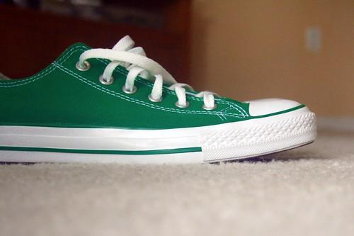 green, number seven