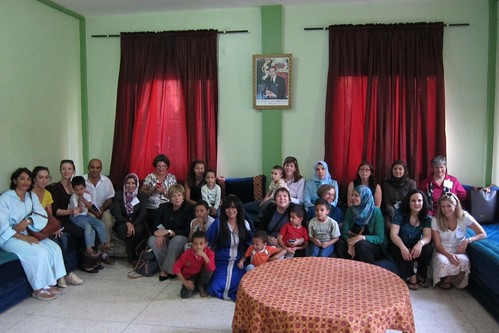 TechWomen at Dar Tifl orphanage