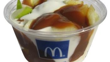 McDonald's Caramel Apple Sundae