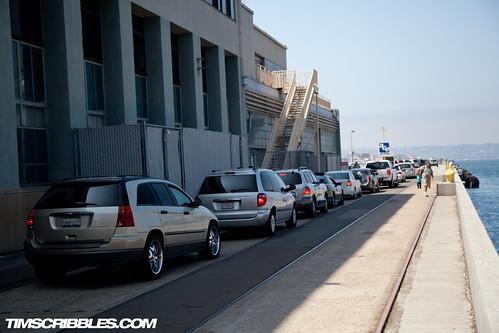 dock traffic