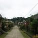 Desa Penglipuran Tampak dari Jalan Bawah