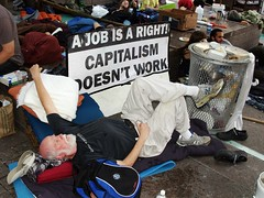 Day 9 Occupy Wall Street September 25 2011 Sha...
