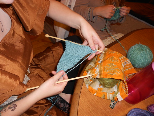 Needles in the Hay - Knit Night