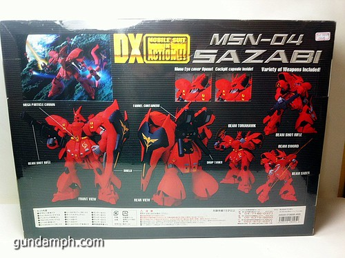 MSIA DX Sazabi 12 inch model (4)