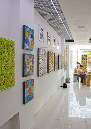 Mosaics in Expo at Eurovea