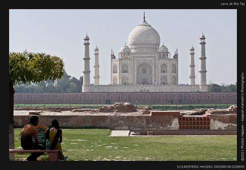 Love at the Taj