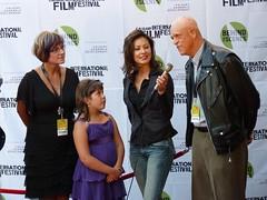 Michael Berryman being interviewed