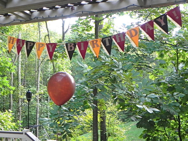 Fall Birthday Banner