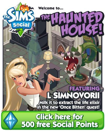 Sims Social Halloween Week + 500 SP!!!
