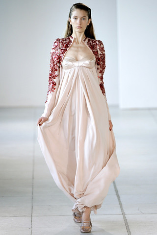 AB Spring 2012 gown bolero
