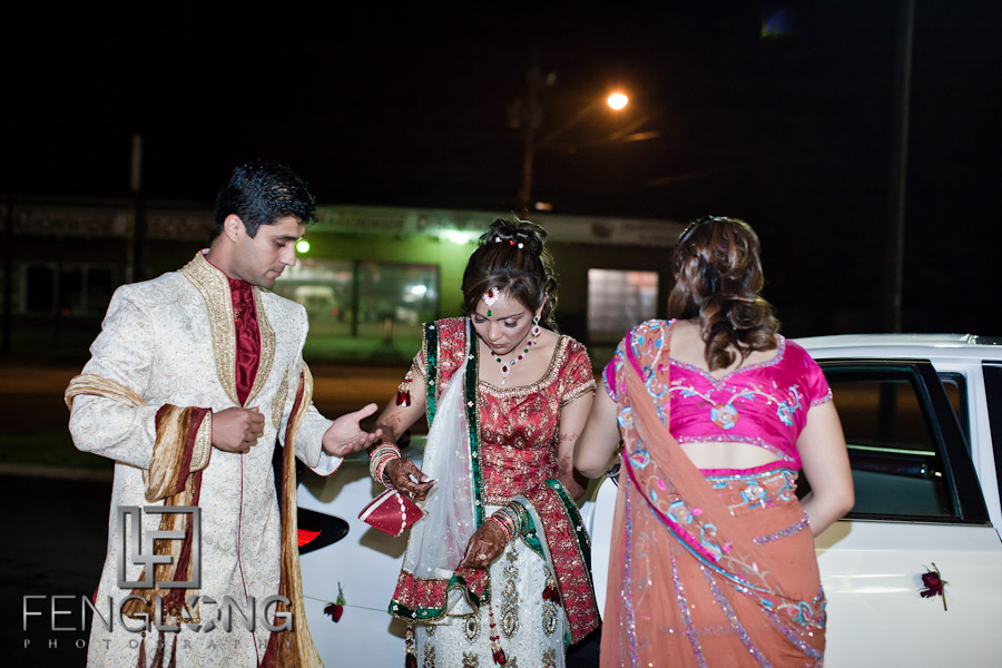Bride & Groom Arriving | Shamz & Sana's Wedding Day 3 | Zyka Indian Banquet Hall Decatur | Atlanta Indian Photographer